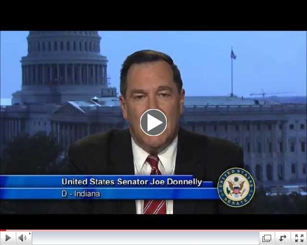 Senator Joe Donnelly's message to @SSCleanCities