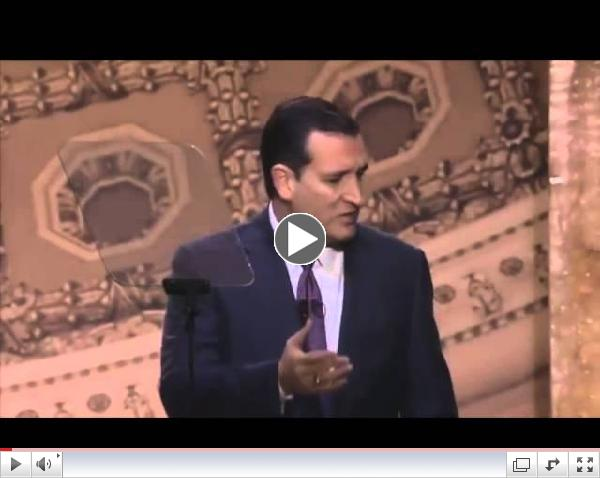 Sen. Ted Cruz at CPAC: How We Win