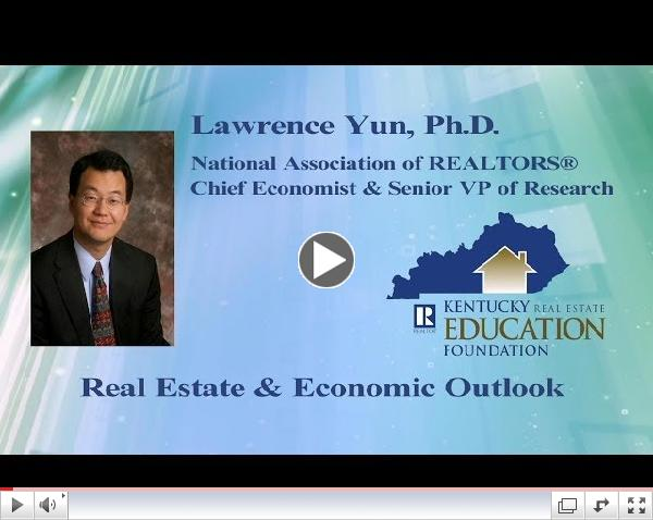 Lawrence Yun: Real Estate & Economic Outlook