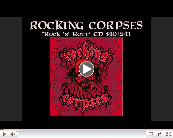 ROCKING CORPSES (Finland) - Take a Whiskey (Promo Video)