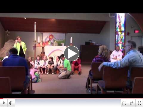 Children's Sermon: Carrying the Baton