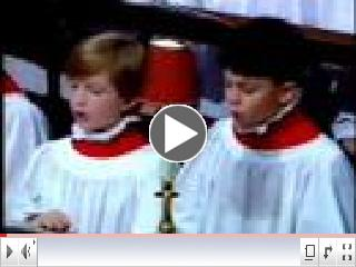 Click to sing the words of the Prayer of St. Francis along with the choir of Westminster Abbey