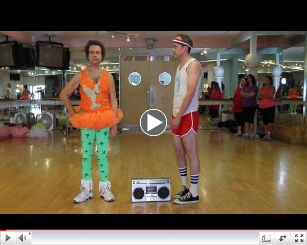 Can Richard Simmons Stay Completely Still For 60 Seconds?