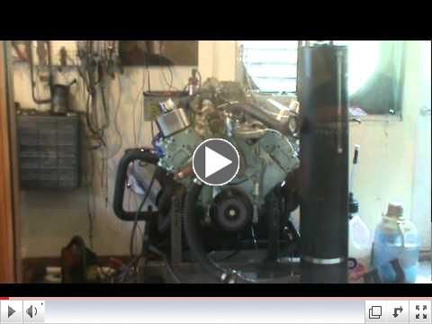 Mickey Turrin's 406 cid Pontiac engine making 350+ HP and over 400 ft lbs of torque.MPG