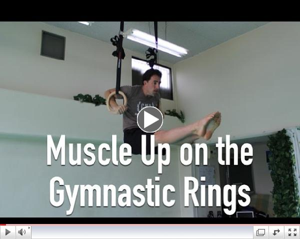 How to do a Muscle Up on the Gymnastic Rings