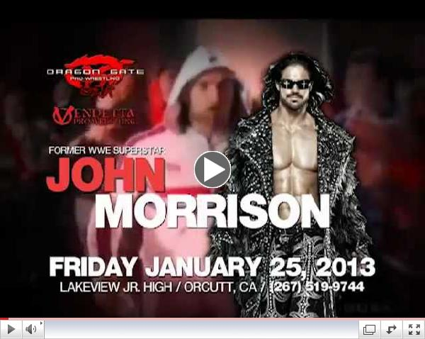DGUSA Pro Wrestling With Former WWE Superstar FKA John Morrison Local TV Ad