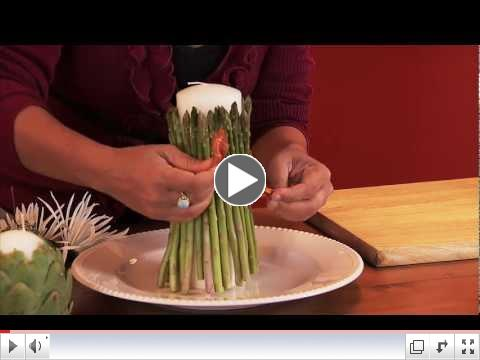 Turn Vegetables into Candleholders!