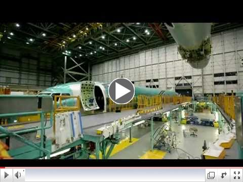 Really Amazing: Boeing Assembly Line