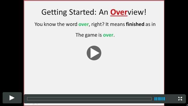 The prefix OVER