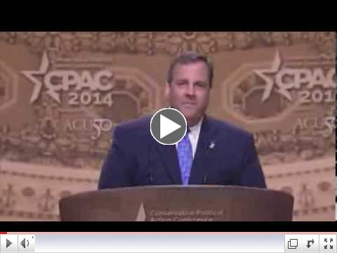 CPAC 2014 - Gov. Chris Christie (R-NJ)