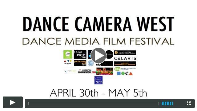 Dance Camera West Film Festival 2015 (Trailer)