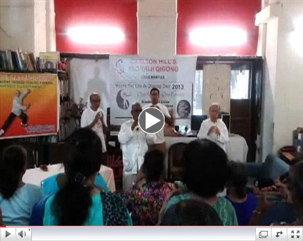 WORLD TAICHI AND QIGONG DAY 2013, MUMBAI, INDIA- BY CARLTON HILL'S TAO TAIJI QIGONG