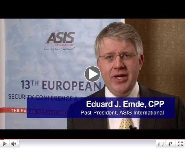 Join ASIS at The Hague for the 13th European Conference & Exhibition