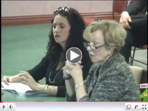 Union County - Fiscal Hearing 2015 #3 - Union County, NJ