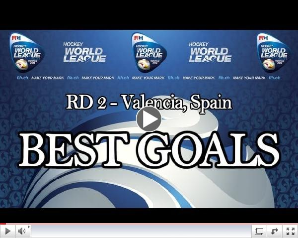 Best Goals of Hockey World League Women Round 2 Valencia: