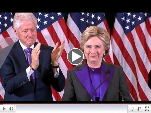 Clinton's Concession Speech