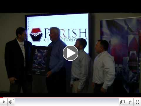 Platinum Sponsorship Recognition - Parrish Construction