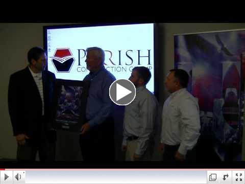 Platinum Sponsorship Recognition - Parrish Construction