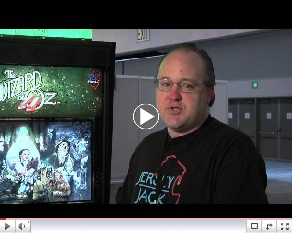 Wizard of Oz Pinball Interviews with Jersey Jack Pinball at E3 Expo from Performancepinball.com