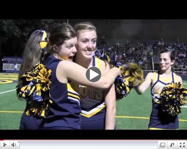 Sparkling Scots join HP Varsity Cheerleaders