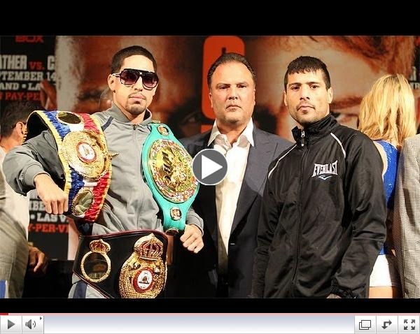 Danny Garcia and Lucas Matthysse final press conference prior to Sept 14, 2013 World Title Match