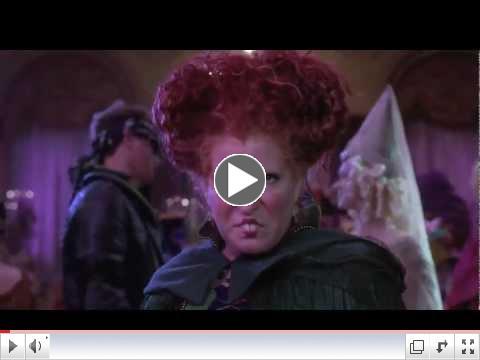 I Put A Spell On You - Bette Midler - Hocus Pocus 1993