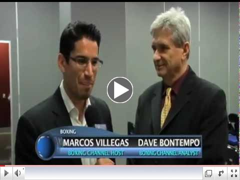 Marcos Villegas and Dave Bontempo go over some of the 2012 boxing events