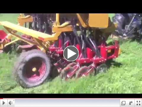 No-Till Drill in Action