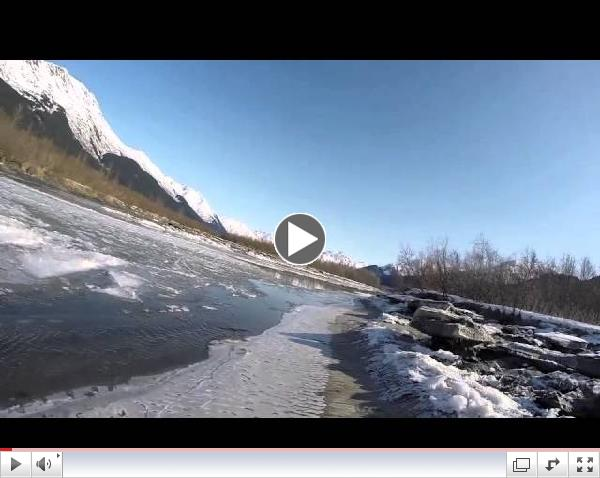 A Cold Day Mini Jet Boating
