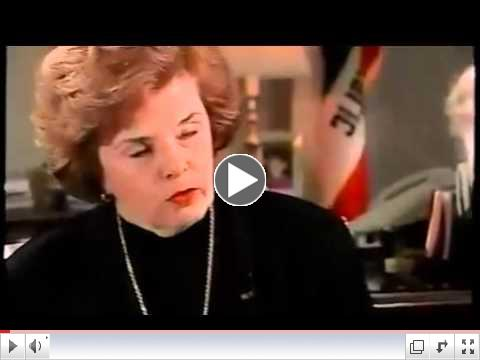 Dianne Feinstein Gun ban in 1995 - She wanted to Ban all guns, Force turn in