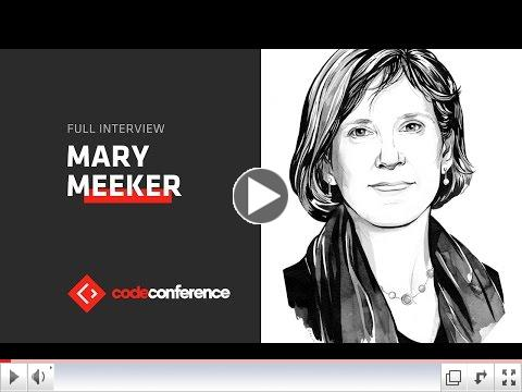 Mary Meeker Internet Trends 2016 Video