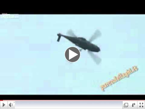 Helicopter backflip into crash