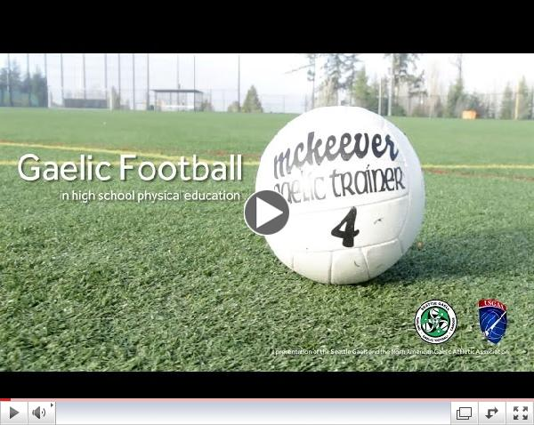 Gaelic Football for High School Physical Education