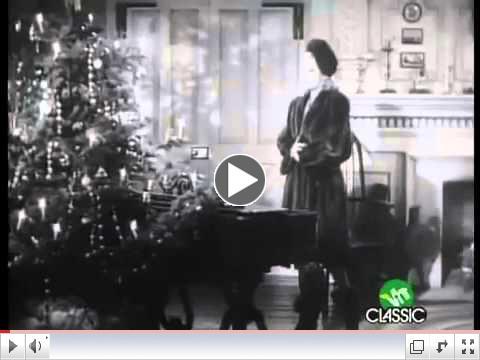Bing Crosby & Marjorie Reynolds   White Christmas Holiday Inn 1942