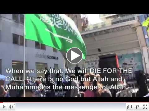 NYC Muslim Day Parade 2012 - Hate On Parade