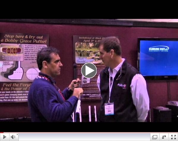 2013 PGA Show Bobby Grace Putters Face Balance