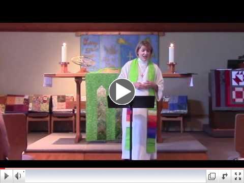 Pr. Christine's Sermon: The Awakening