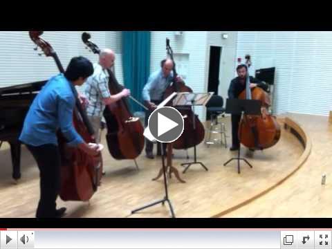 BASS2012 in Copenhagen Double Bass Makers Competition Quart