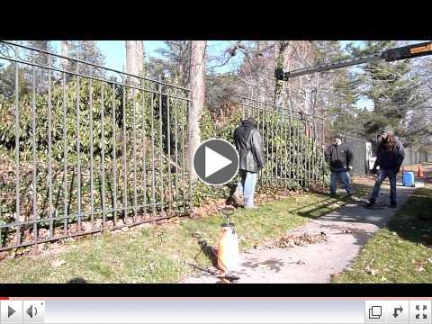 Airmet Metalworks at Van Vleck House & Gardens for Phase 1 of Historic Fence Restoration