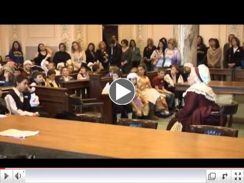View a video about Colonial Day at the Capitol