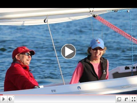 Pixie Sails a Harbor 20 - Video