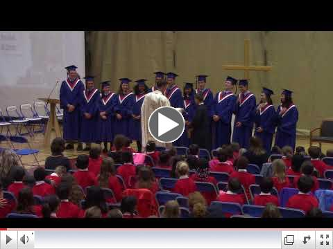 2018 Grad Blessing
