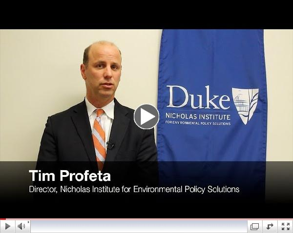 Nicholas Institute for Environmental Policy Solutions: 10 Years of Environmental Policy Impact