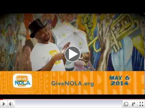 GiveNOLA Day - Hear Allen Toussaint sing about it!