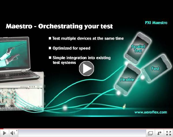 Aeroflex Maestro Overview
