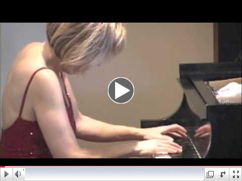 Lisa Spector Performs Chopin Scherzo E Major Op. 54