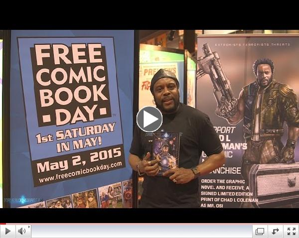 Chad Coleman Wants you To Experience Free Comic Book Day!