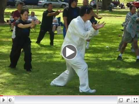 Lohan Qigong; World Tai Chi Day; Apr. 28, 2012