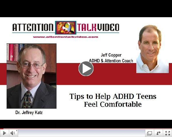 ADHD Help: Tips to Help ADHD Teens Feel Comfortable