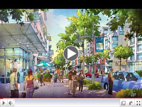 Flash forward - Fly through of Jeff Vinik's Tampa Waterfront Vision